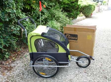 remorque v lo jogger pour 2 enfants neuve deux roues annonces gratuites belgique. Black Bedroom Furniture Sets. Home Design Ideas