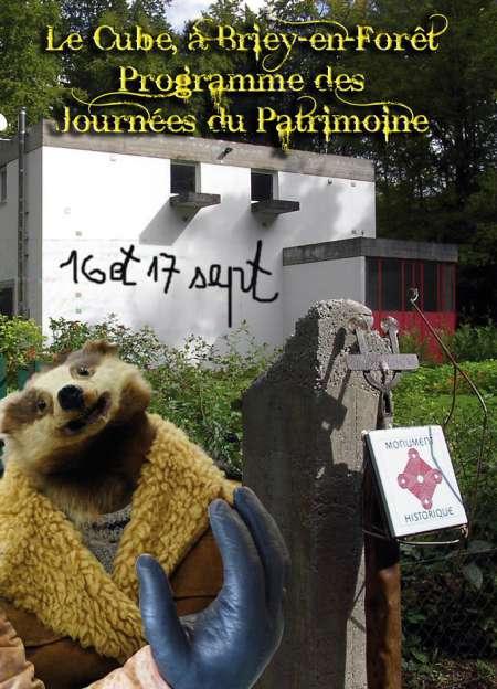 Photo ads/1043000/1043759/a1043759.jpg : Journées du Patrimoine  / espace Cube Le Corbusier