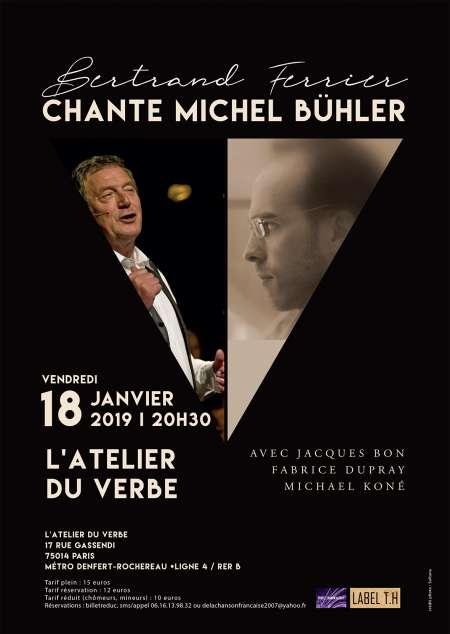 Photo ads/1445000/1445128/a1445128.jpg : Bertrand Ferrier chante Michel Bühler 19/01