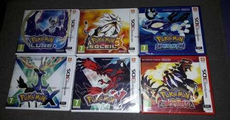 Photo ads/1455000/1455624/a1455624.jpg : Jeux Nintendo 3DS Neuf Pokemon