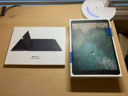 Photo ads/1468000/1468650/a1468650.jpg : Apple iPad Pro 10.5 256 Go, Wi-Fi + 4g + clavier