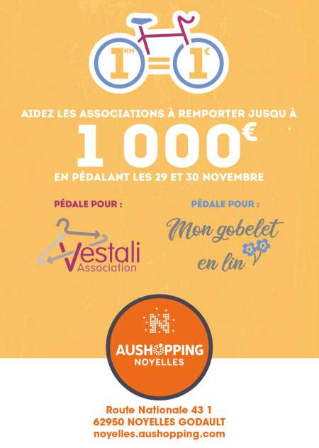 Photo ads/1575000/1575861/a1575861.jpg : Défi solidaire au centre Aushopping de Noyelles-Go