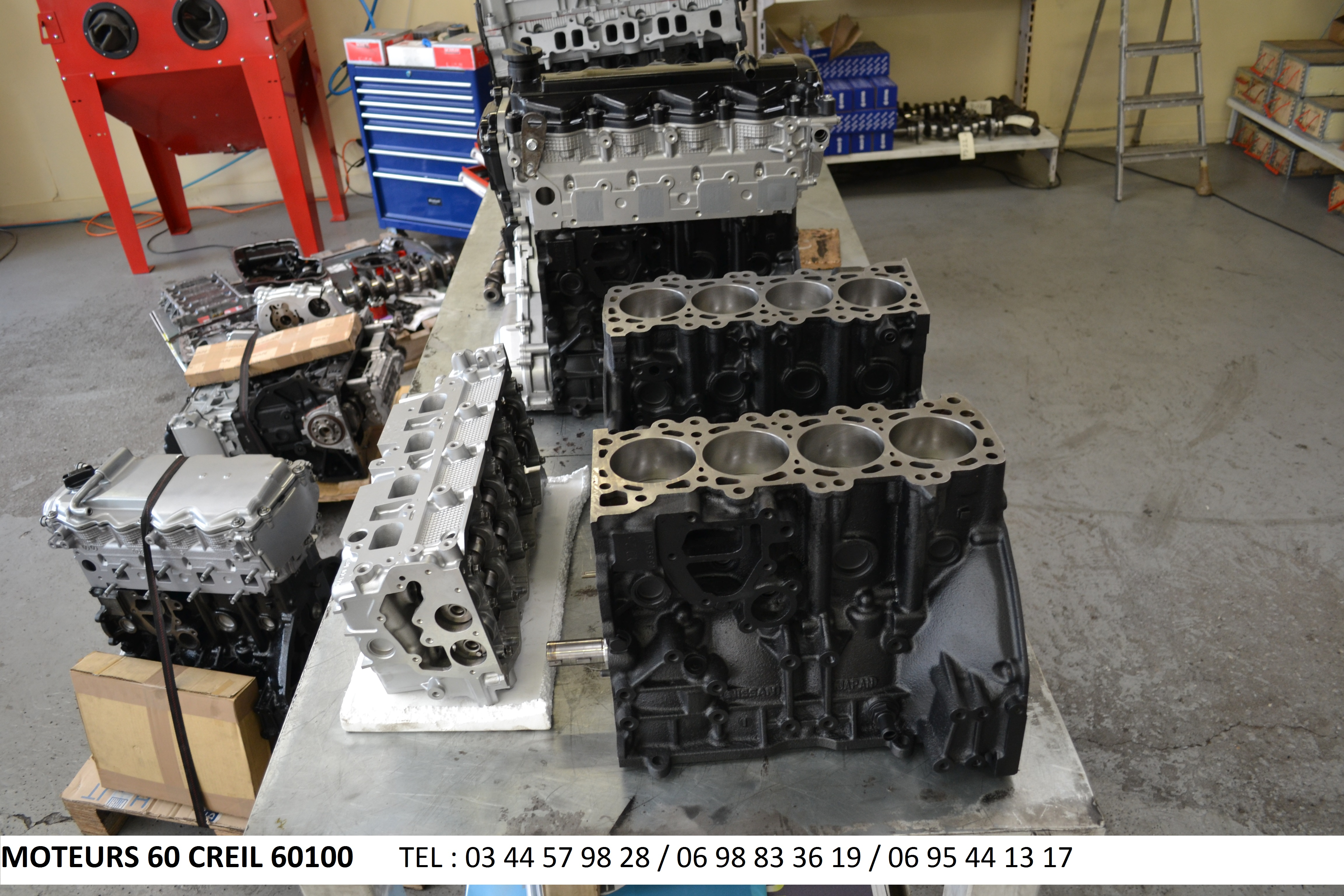 Photo ads/719000/719375/a719375.jpg : moteur nissan pathfinder navara maxity d40